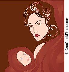 赤ん坊, 聖母マリア, 保有物, イエス・キリスト