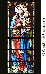 赤ん坊, 聖母マリア, 祝福された, イエス・キリスト
