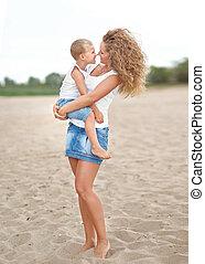 赤ん坊, 肖像画, 幸せ, 母