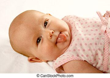 赤ん坊, 舌