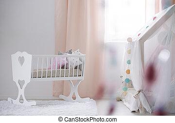 赤ん坊, 部屋, カンニングしなさい