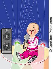 赤ん坊, 音楽