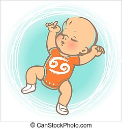 赤ん坊, 黄道帯, がん