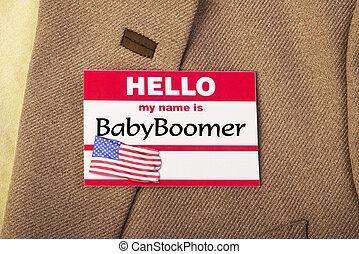 赤ん坊, boomer.
