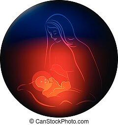 赤ん坊, mary, イエス・キリスト