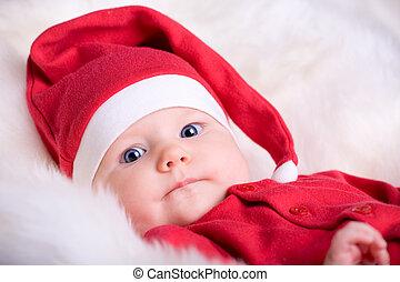 赤ん坊, santa