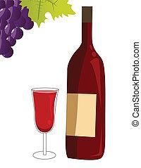 赤ワイン, ベクトル