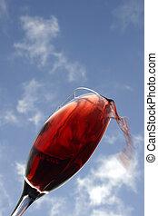 赤ワイン, 落ちる