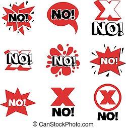 赤十字, 虚偽である, シンボル。, ベクトル, 拒絶, シンボル, disapproved, 隔離された, 上に, white.