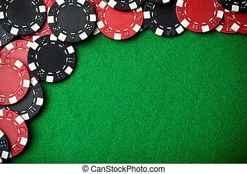 赤, そして, 黒, 賭けることは 欠ける