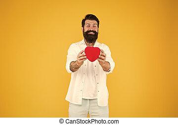 赤, シンボル。, 概念, ロマンチック, 心, ある, ロマンス語, 共有, 祝いなさい, toy., 情報通, 寛大である, 愛, heart., lover., love., 広がり, around., 人, 誠実, honest., day., you., バレンタイン