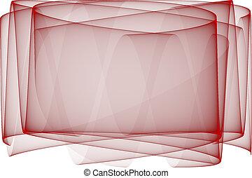 赤, ベールで覆われる, backgroun