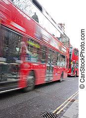 赤, ロンドン, バス, 引っ越し