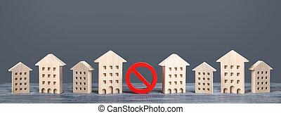 赤, 下部組織, 制限, 住宅の, compaction., 建物, underdeveloped, housing., construction., いいえ, 印, ユーティリティー, 建物。, 制限, 高い, 禁止, 立つ, 得難い, 禁止令