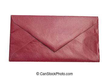 赤, 封筒