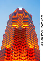 赤, 未来派, 超高層ビル