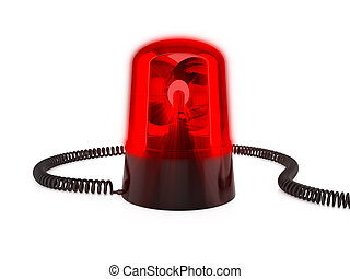 赤, 標識燈