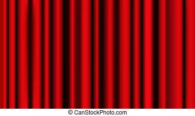 赤, bacground, グラフィック, ショー, 現実的, ベクトル, 型, 劇場, イラスト, decoration., カーテン, ステージ, curtain., 贅沢