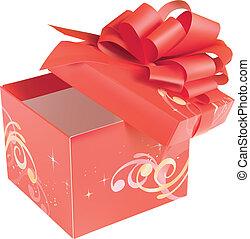 赤, giftbox