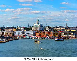 赫爾辛基, 歷史, 中心