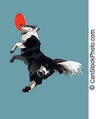 走り高跳び, 犬