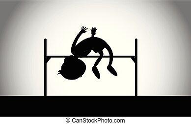 走り高跳び, 運動競技