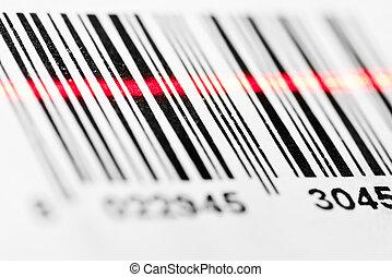 走査, barcode