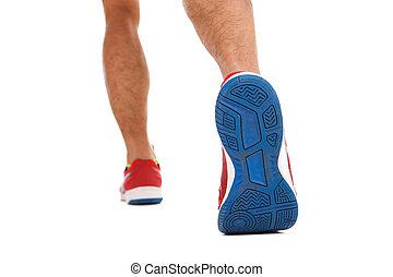 走, 体育运动鞋子, 成熟的人