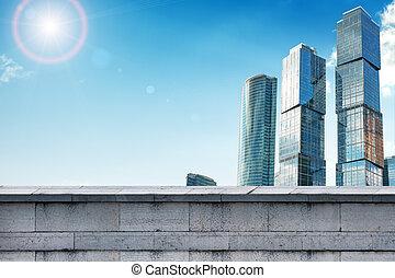 超高層ビル, ∥で∥, 灰色, 壁