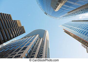 超高層ビル, の, シドニー