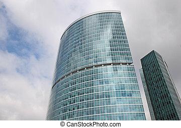 超高層ビル, モスクワ, 都市, 2