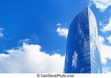 超高層ビル, 未来派