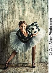 足球, 以及, 跳舞