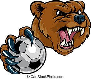 足球, 熊, 藏品