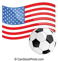 足球, 美國
