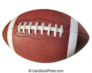 足球, 被隔离, 由于, 夾子, 路徑