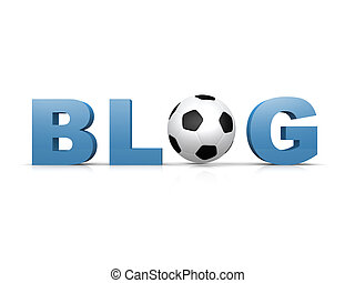 足球, blog