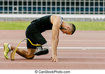 足, 人工装具である, 運動選手, ランナー