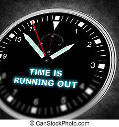 跑, 時間, 在外