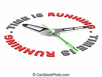 跑, 時間