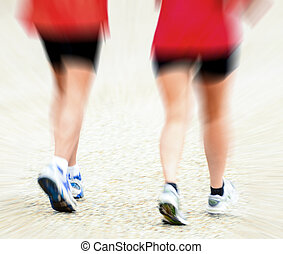 跑, 概念的圖像