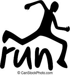 跑, 速度