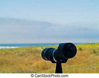 距離, 指すこと, 海洋, 斑点を付けること, 範囲, 浜