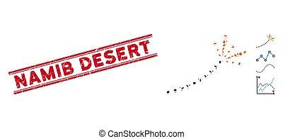 跡, 線, コラージュ, namib, 切手, 花火, textured, 砂漠, アイコン