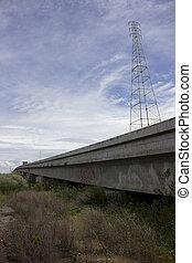 跨線橋, 消失 ポイント