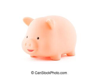 路徑, 剪, 小豬, 銀行
