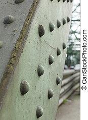 路徑, 梁, 吊橋, 鋼