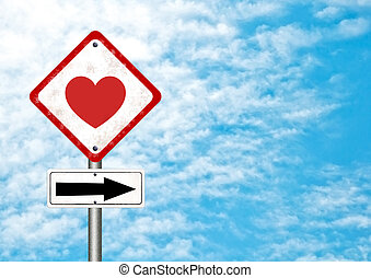 路標, 由于, 愛