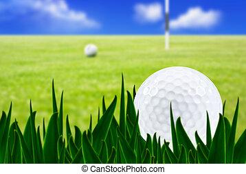 路線, 球, 高爾夫球