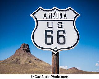 路线66, 签署